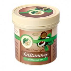 Gaštanový masážny gél 500 ml