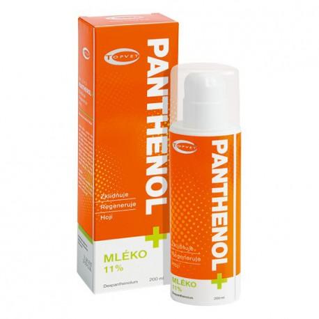PANTHENOL+ MLIEKO 11 % 200 ml