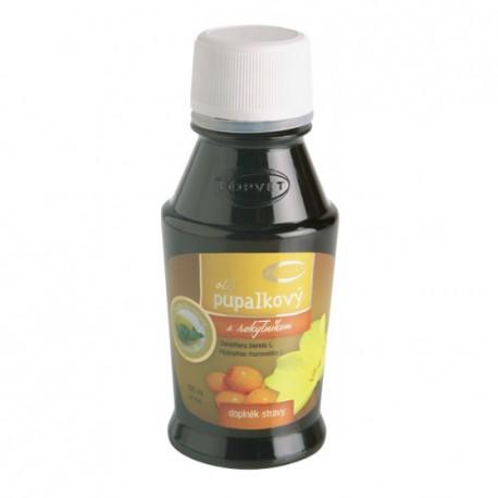 Pupalkový olej s rakytníkom 100 ml