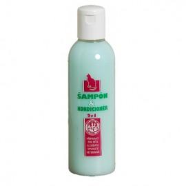 Šampón a kondicionér 2 v 1 pre mačky 200 ml