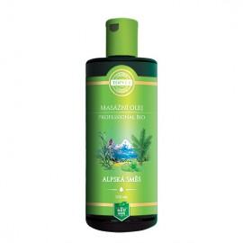 BIO Alpská zmes – masážny olej 200 ml