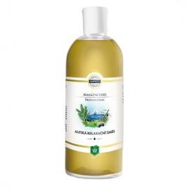 Alpská relaxačná zmes – masážny olej 500 ml