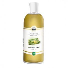 Citrónová tráva – masážny olej 500 ml
