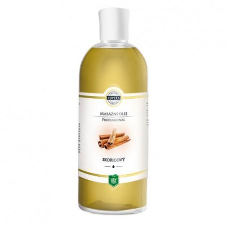 Škoricový masážny olej