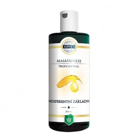 Indiferentný základný mas. olej 200 ml