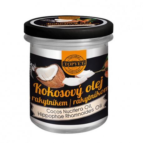 Kokosový olej s rakytníkom 250 ml