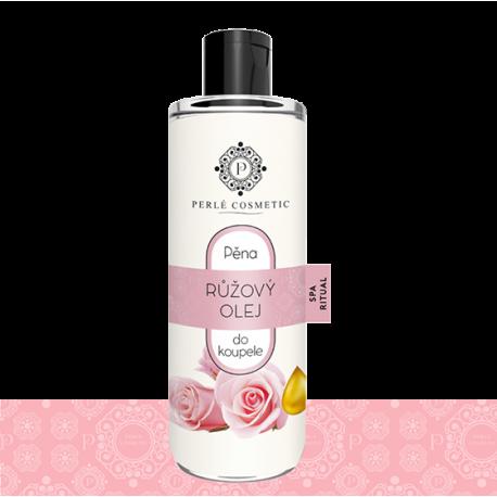 Pena do kúpeľa s ružovým olejom 500 ml