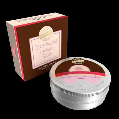 Bambucké maslo - Ruža 50 ml