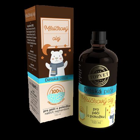 Detská starostlivosť - Nechtíkový olej 100 ml